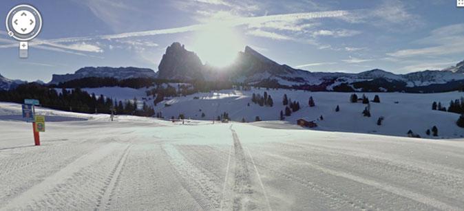 Google Ski Map Alpe di Siusi