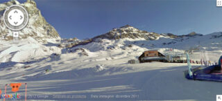 Google Ski Map Cervinia