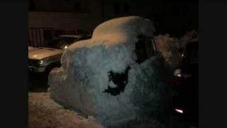 Nevicata Record a Cortina d'Ampezzo