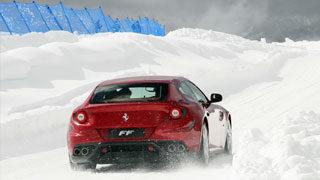 Test Ferrari FF sulle Dolomiti
