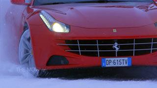 Ferrari Rally sulla neve in Scandinavia