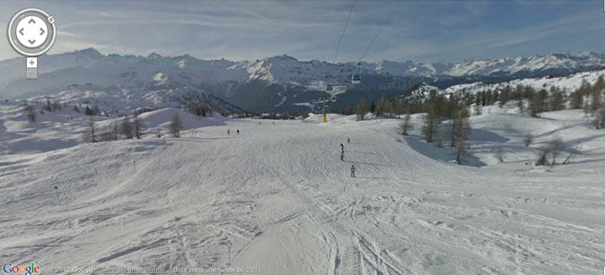 Google Ski Map Madonna di Campiglio