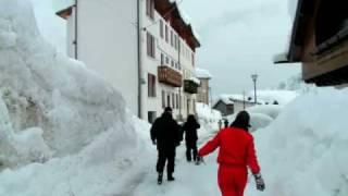 Nevicata Super in Val di Zoldo