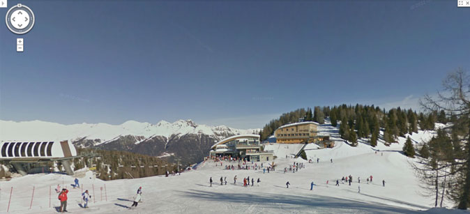 Google Ski Map Folgarida