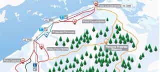 Mappa Piste Alpe Devero