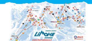 Mappa Piste Limone Piemonte