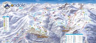 Mappa Piste Prato Nevoso