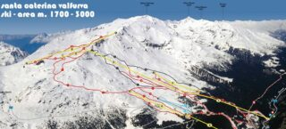 Mappa Piste Santa Caterina Valfurva