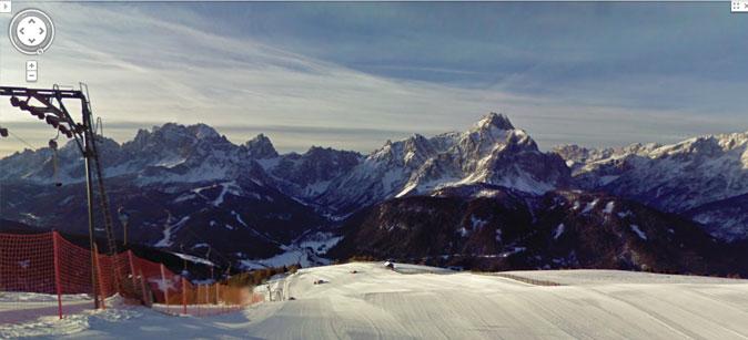 Google Ski Map Alta Pusteria