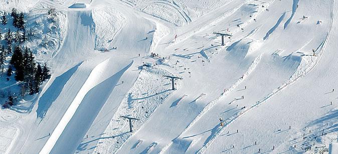 Snowpark Monte Bondone