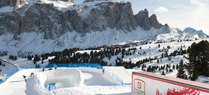 Snowpark Piz Sella
