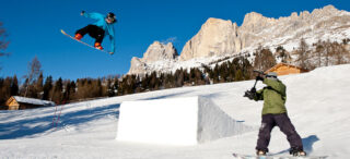 Snowpark Christomannos