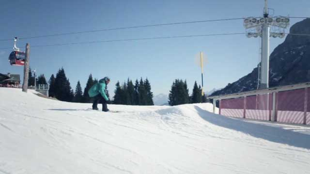 Superpark Alleghe: Snowboard Test by Dolomiti Super Freestyle