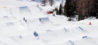 Snowpark Arabba