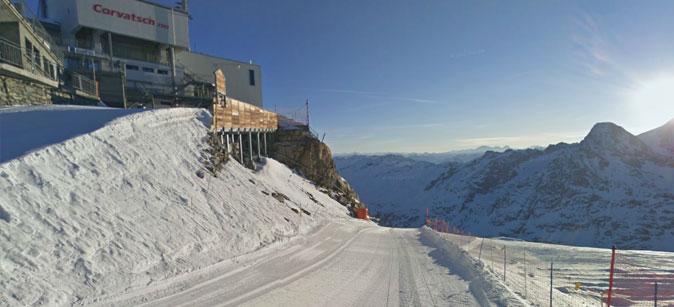 Google Ski Map Corvatsch