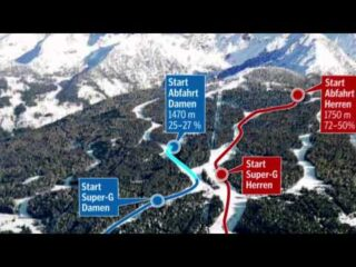 Schladming le piste e la località sciistica dei Mondiali 2013