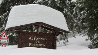 Video Nevicata Altopiano dei Fiorentini
