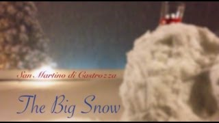 Video Super Nevicata San Martino di Castrozza