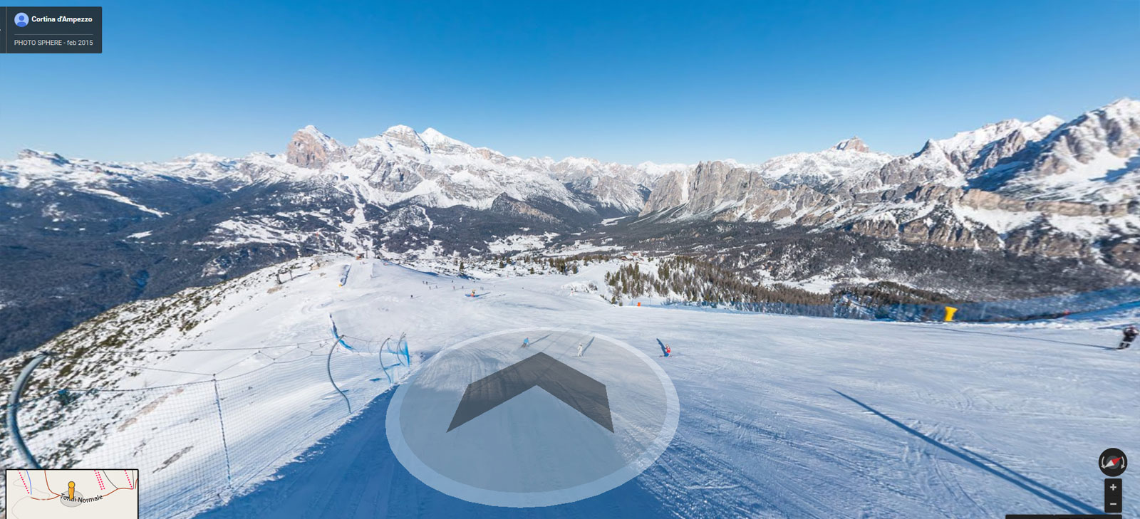 Google Ski Map Cortina