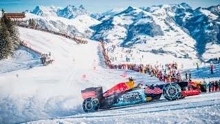 Formula 1 sulla pista Streif a Kitzbühel