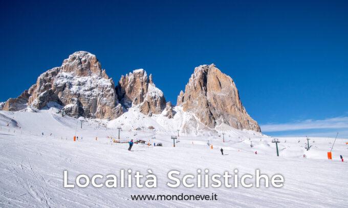 localita sciistiche mondo neve