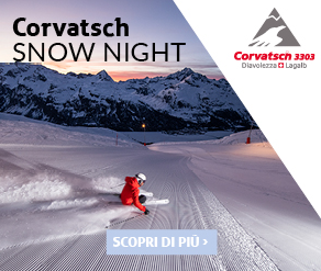 banner ski night corvatsch